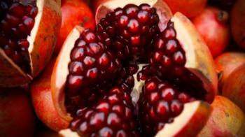 Pomegranate seeds are a delightful addition to salads and other dishes.  Photo: Arjun Kapoor